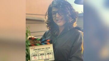 """Tahira Kashyap unveiled her third short film titled """"Quaranteen Crush"""" as a part of streaming platform Netflix's anthology series """"Feels Like Ishq,"""" which was released on July 23, 2021. (@tahirakashyap/Instagram)"""