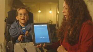 Voiceitt app allows people with speech impairments to converse with others and control Alexa-enabled smart home devices using their own voices. (Voiceitt)