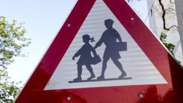 School Sign Vienna
