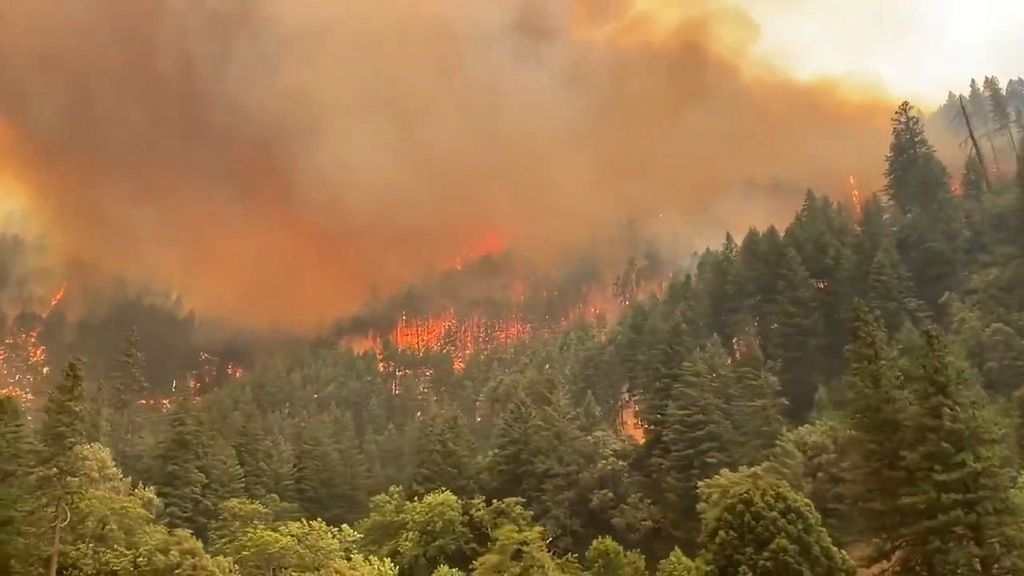 VIDEO: California's Largest Fire Destroys More Than 200,000 Acres
