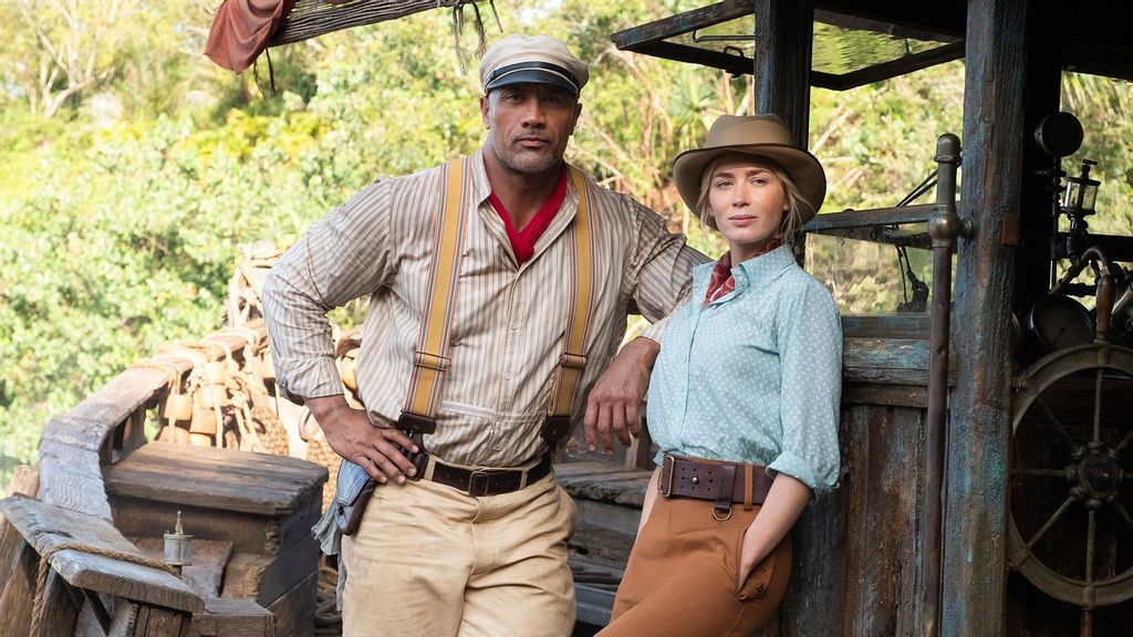 """Dwayne Johnson, Emily Blunt Open Up About Working Together In """"Jungle Cruise"""""""