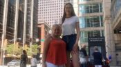Taking It In Her Stride: The 6-Foot-9-Inch Model With The World's Second-Longest Legs