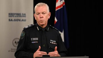 Police Commissioner Grant Stevens has praised the use of masks by South Australians after lockdown.