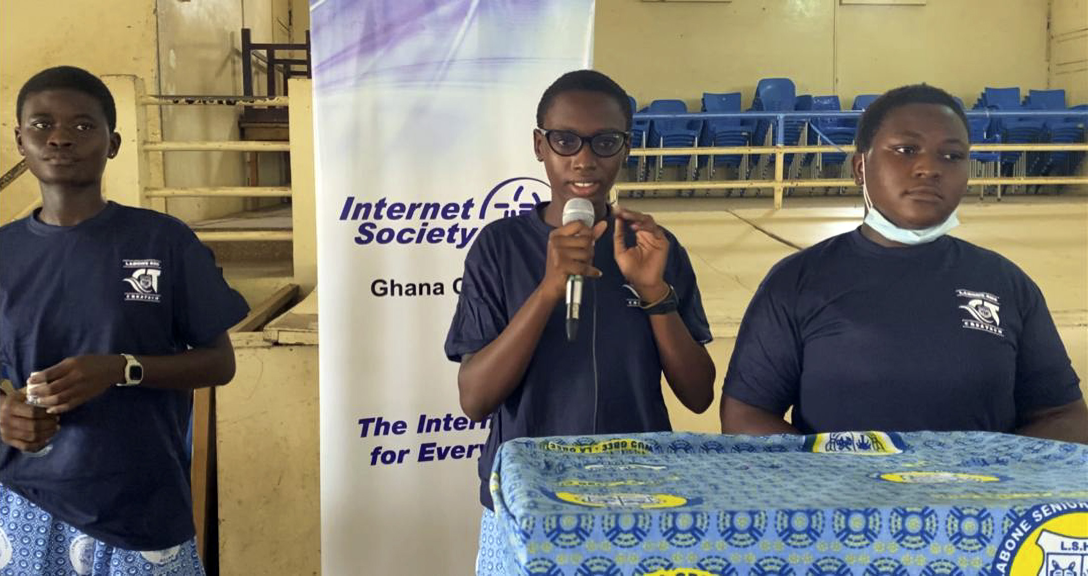 Ghanaian School Girls Tackle Covid-19 With Touchless Sanitizer Dispenser Invention