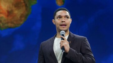 Trevor Noah's new documentary series 'Tipping Point' will offer a 'fresh perspective on the influence and legacy of recent events.' (Yana Paskova/Getty Images)
