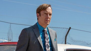 Bob Odenkirk is now in stable condition at a New Mexico hospital, a day after suffering a heart attack. (Better Call Saul, @BetterCallSaulAMC/Facebook)