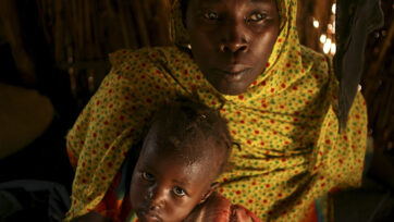 Live In UN Camp After Fleeing The War In Darfur