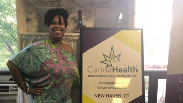 Kebra Smith-Bolden, a former nurse and the founder of CannaHealth, aims to provide safety and security for people who consume or medicate with cannabis. (Courtesy of Kebra Smith-Bolden)