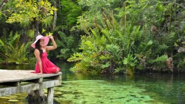 Mexico, with diverse tourism options, offers beautiful aquatic destinations. (Claudia Rivera/Café Words)