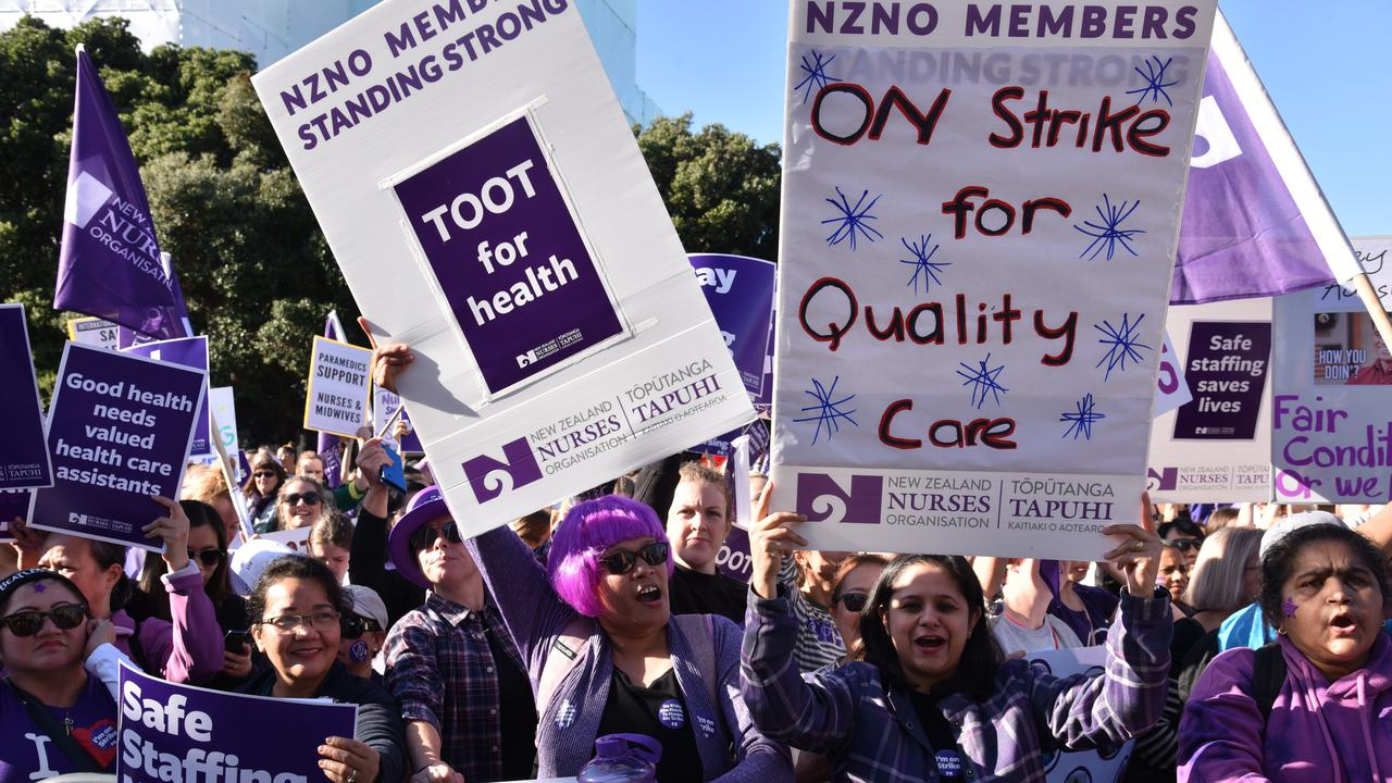 New Zealand Nurses Reject Pay Offer, Set To Walk Off The Job Again