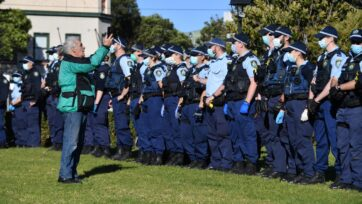 Police will be out in force in a bid to head off any further anti-lockdown protests in Sydney.