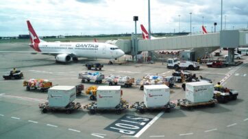 Qantas's decision to outsource 2500 jobs to sub-contractors was unlawful under the Fair Work Act.