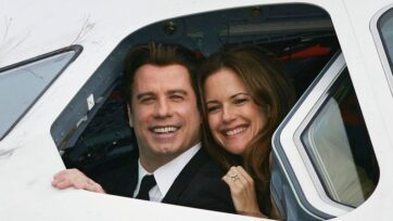 Hollywood movie Off the Rails, which marks the final film performance of the late actress Kelly Preston, premiered in the United Kingdom and Ireland this past weekend. Her husband, John Travolta, fondly remembered her and paid his respects. (Jonathan Wood/Getty Images)
