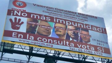 The referendum to decide whether to bring five former presidents to trial divides Mexican society. The process has no legal basis in Mexico, say experts. (Julio Guzmán/Zenger)