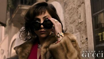 A still from the 'House of Gucci' trailer starring Lady Gaga. (Lady Gaga/Youtube)