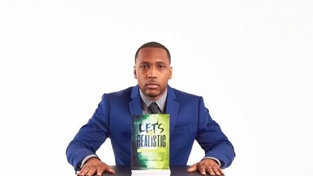 """<p>Darnelle Beckford has written a motivational and inspirational book, """"Let's Be Realistic: Battling Epilepsy and Other Limitations."""" He says, """"This book is for you if you have any type of addiction or illness."""" (Courtesy of Darnelle Beckford)</p>"""