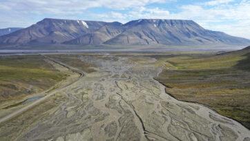 Summer Heat Wave Hits Svalbard Archipelago, Far North Of The Arctic Circle