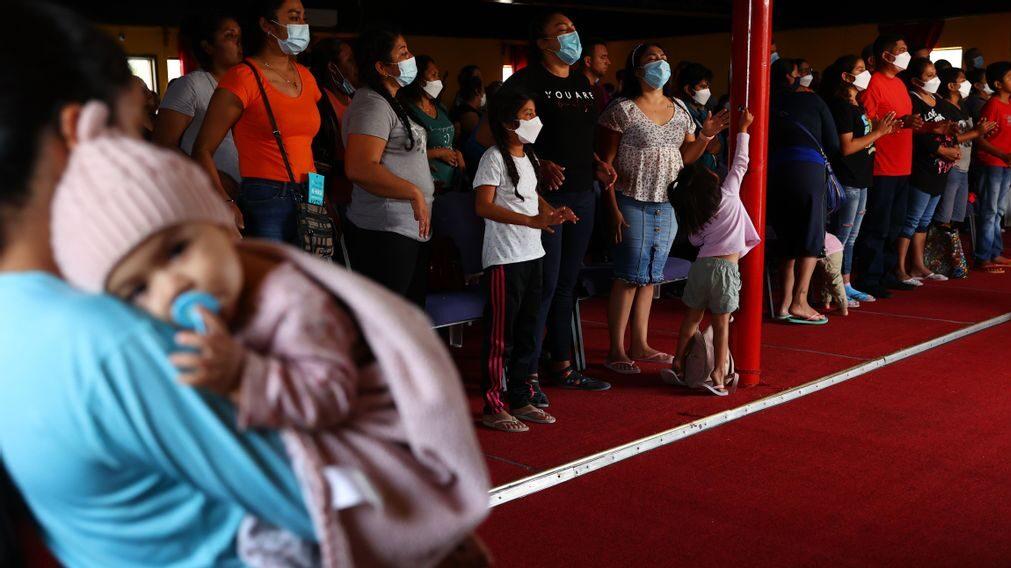 Mexican Health Authorities Quarantine Migrant Camps In Tijuana Due To Chickenpox Outbreak