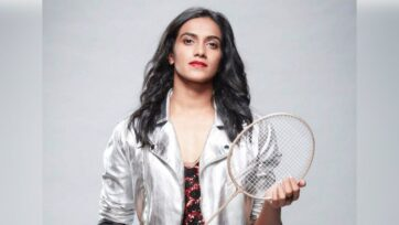 Badmintonplayer P.V. Sindhu defeated China's He Bing Jiao in the bronze medal match of the Tokyo Olympics. (P V Sindhu/Facebook)