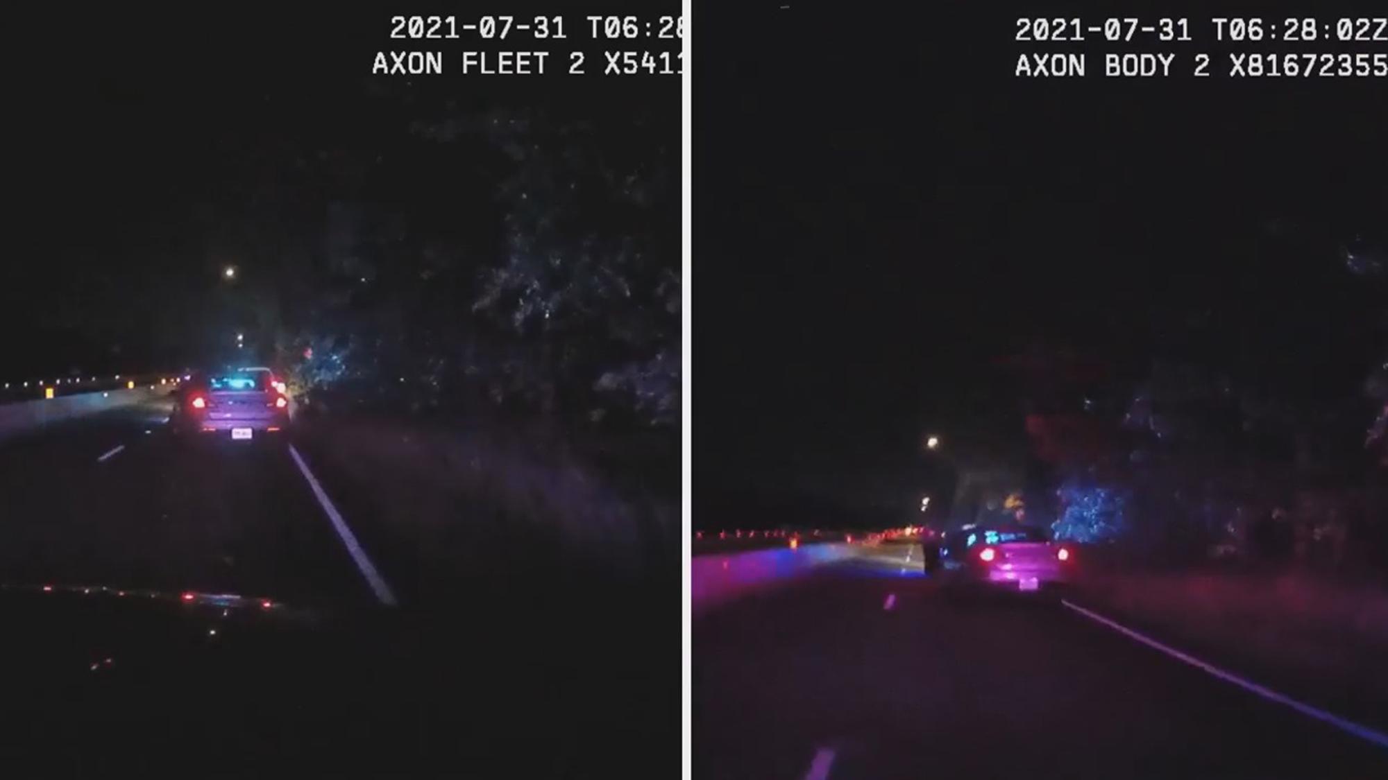 VIDEO: Dodge Rammed: Cop Mowed Down By Speeding Driver