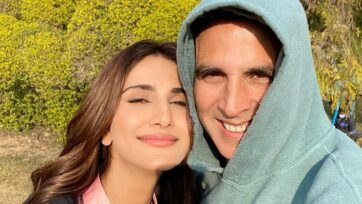 """Vaani Kapoor, is thrilled that she got the opportunity to work opposite Akshay Kumar in """"Bell Bottom,"""" a movie in which she has a small but impactful role. (@_vaanikapoor_/Instagram)"""