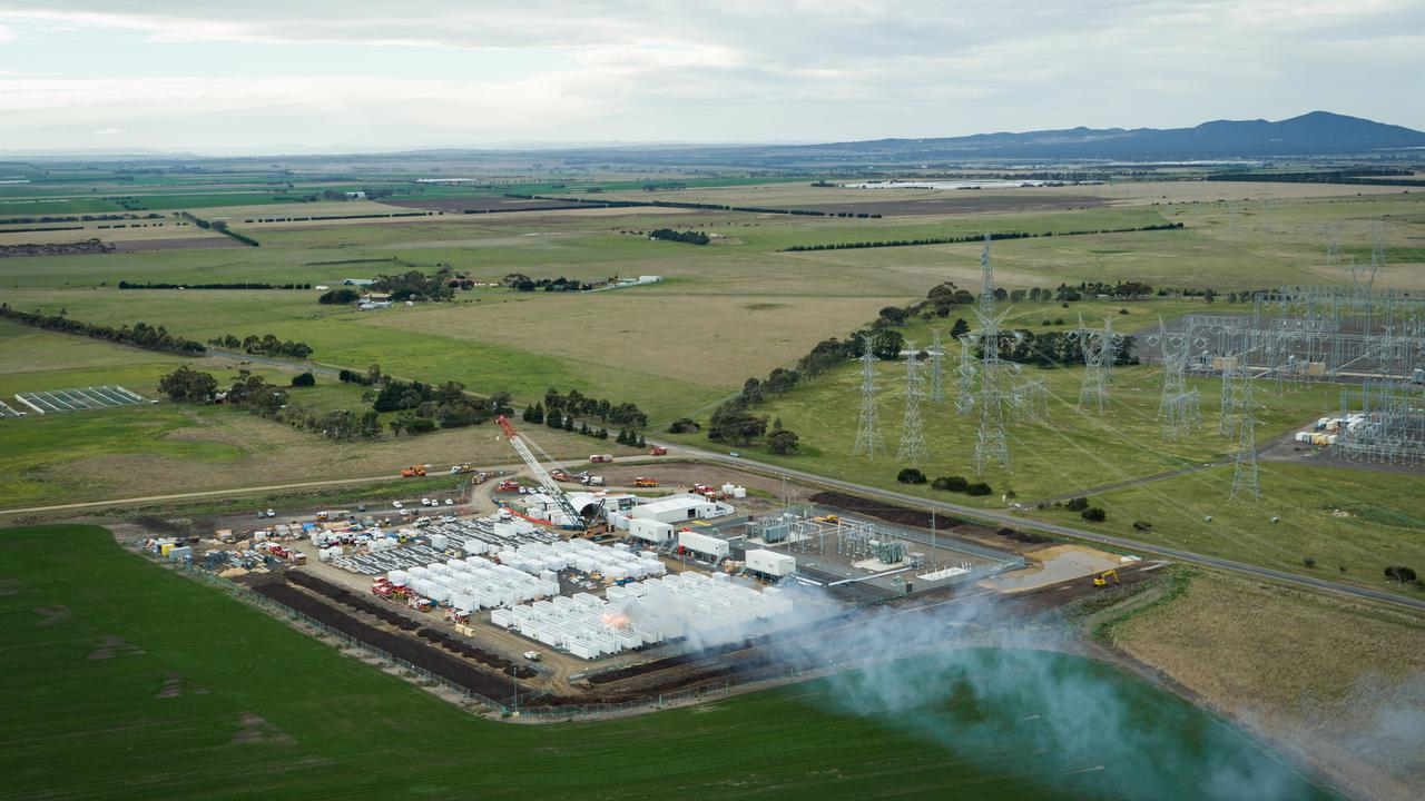 Australian State's Big Battery Fire Clouds Planned Start