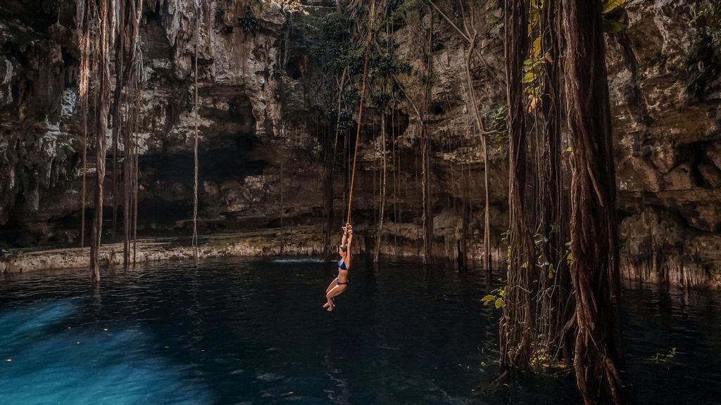 Pooling Resources: The Sacred Cenotes Are Southeastern Mexico's Underwater Pools