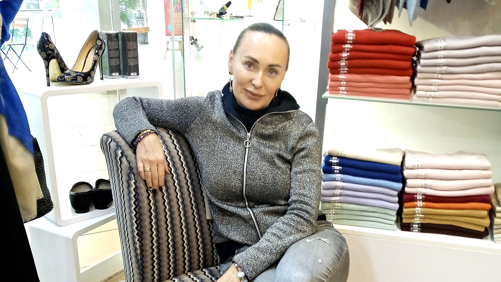 Russian Expat Cashes In On Cashmere Clothing Business In Kenya