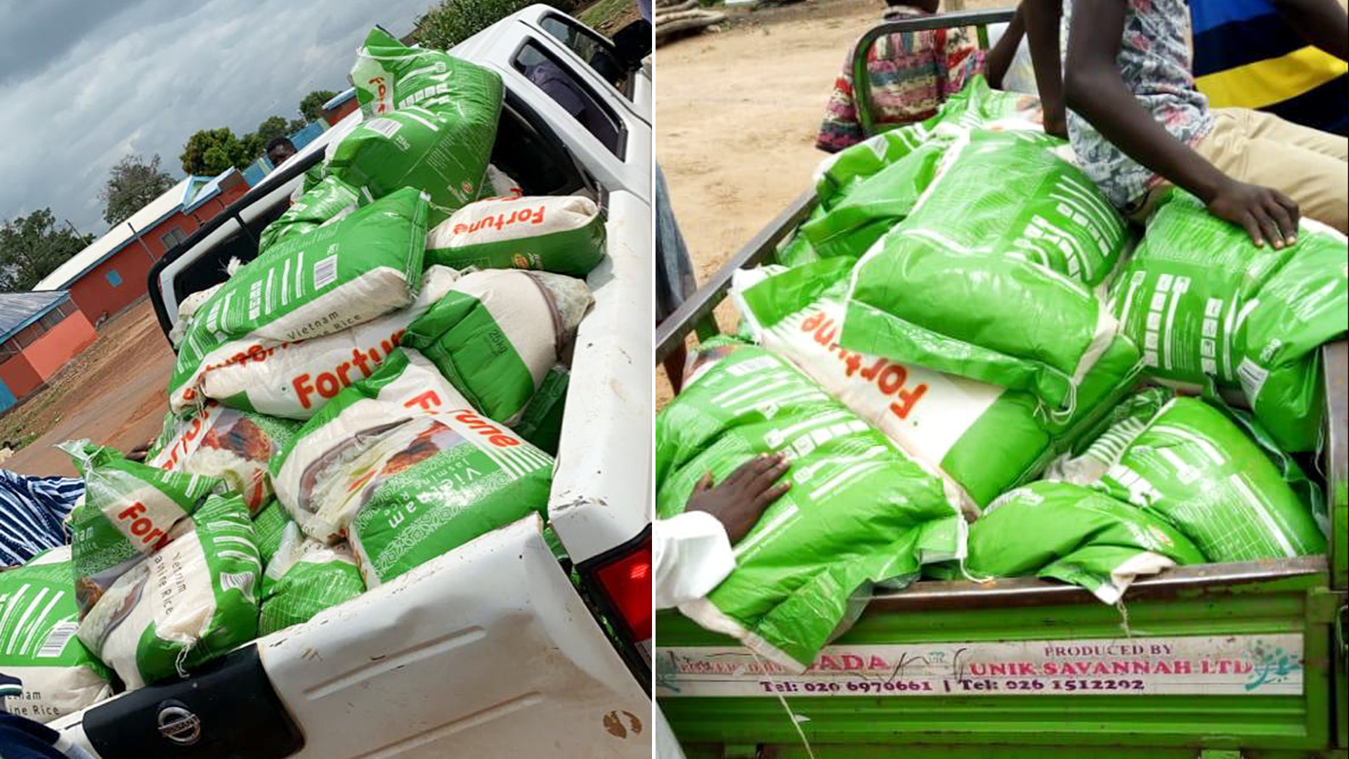 'We Need Jobs, Not Rice': Angry Ghanaian Youth Reject Minister's Food Donation