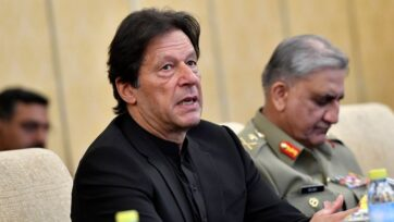 Pakistan opposition slammed the federal government of Imran Khan over its failure to remove the country from Financial Action Task Force's (FATF) grey list. (Parker Song-Pool/Getty Images)