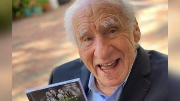Mel Brooks has written his first memoir titled 'All About Me! My Remarkable Life in Show Business'. (Mel Brooks, @MelBrooks/Twitter)