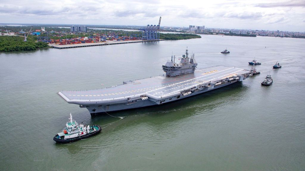 """""""INS Vikrant"""" Puts India In Elite Club Of Countries With Indigenous Aircraft Carriers"""