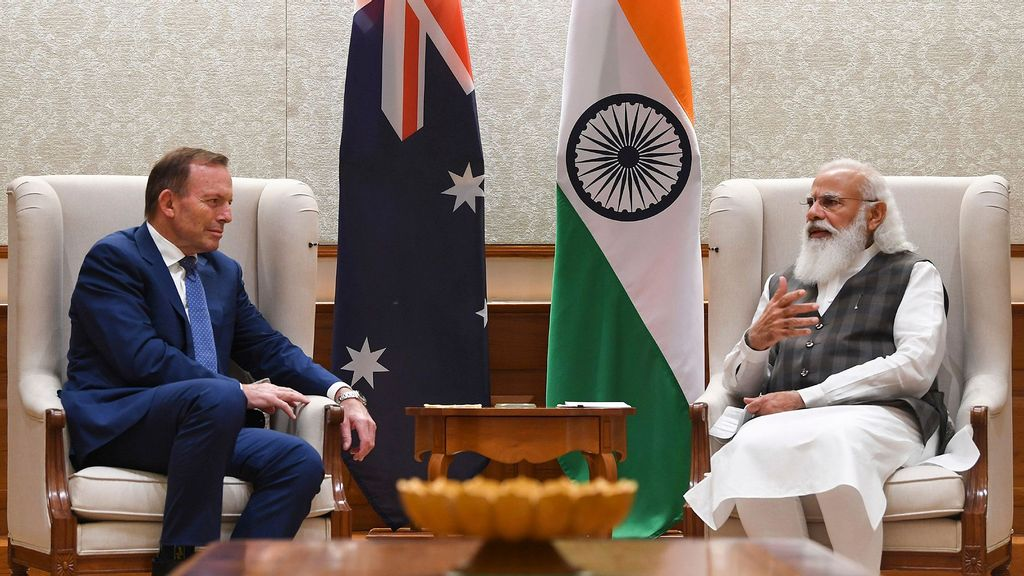 Indian Prime Minister, Australia's Special Trade Envoy Meet To Double Down On Strategic Partnership