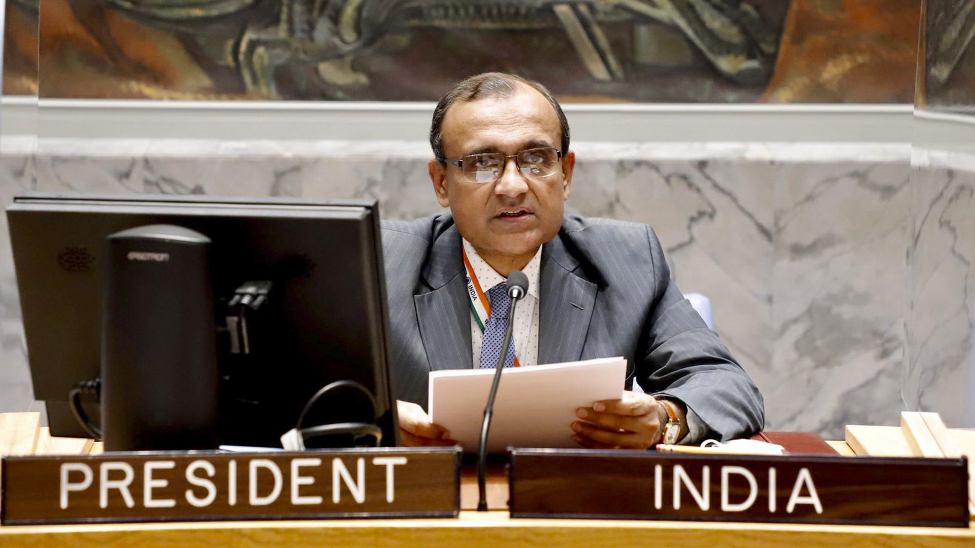 Zero Tolerance For Terrorism Central To Peace Restoration In Afghanistan: Indian Envoy To UN