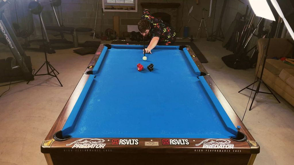 VIDEO: Cue Genius: Pool Table Trick Shot Master's Videos Draw Millions Of Viewers