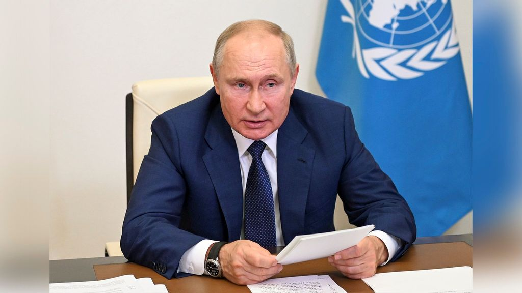 Russian President Proposes Maritime Security Body In UN Security Council