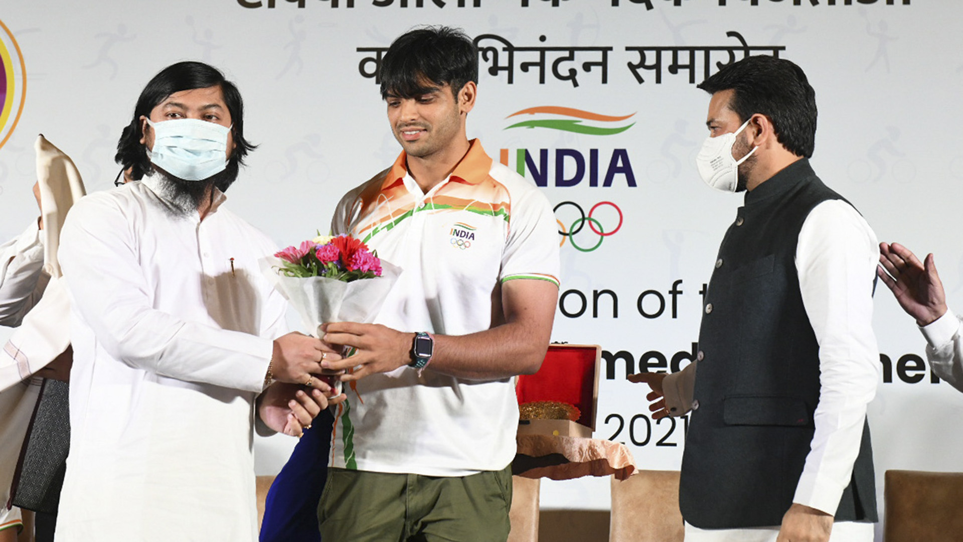 India's Olympic Medalists Receive Hero's Welcome