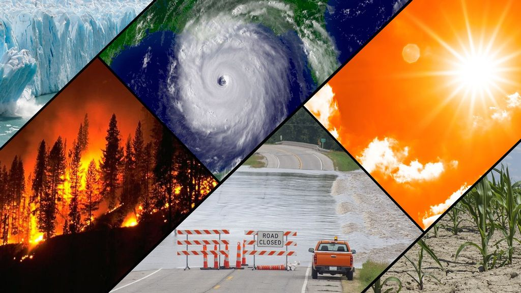 Extreme Weather Events Are Further Intensified When Interacting Mechanisms Are At Odds