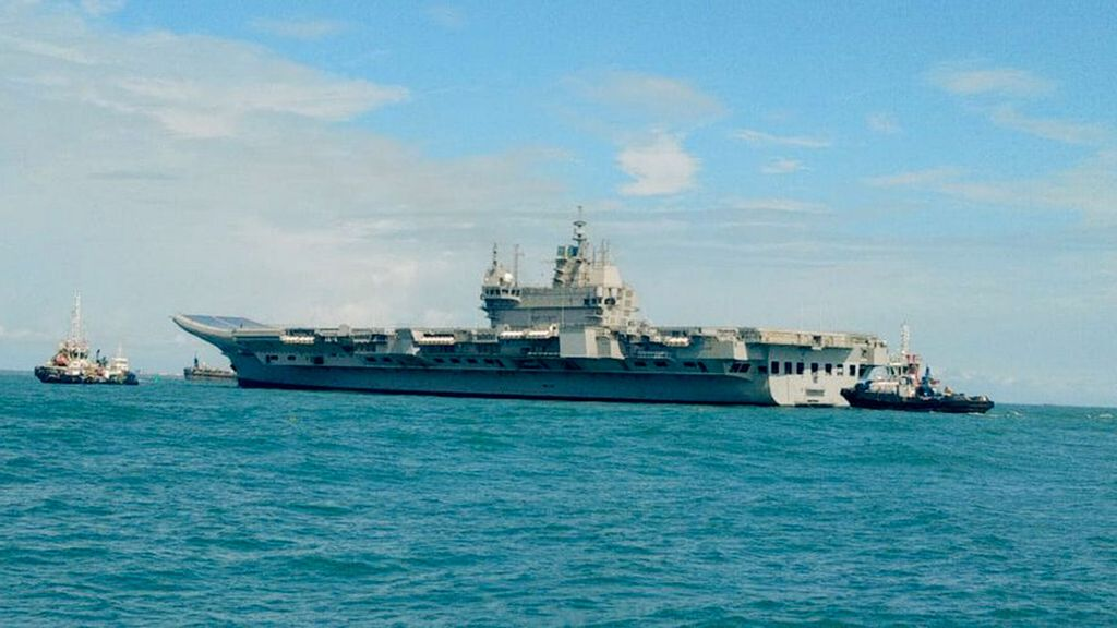 Indeed, A Historic Moment: Indian Navy On Aircraft Carrier's Maiden Sea Voyage