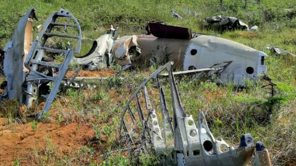 Russian Bomber Wreck Found On Remote Island