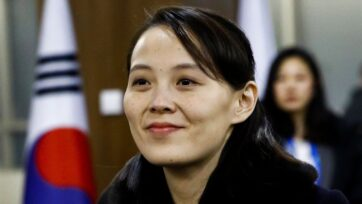 """The joint drills between the United States and South Korea are nothing but a """"rehearsal"""" of nuclear war, felt Kim Yo Jong, the deputy department director of the Workers' Party of Korea Central Committee. (Patrick Semansky - Pool /Getty Images)"""