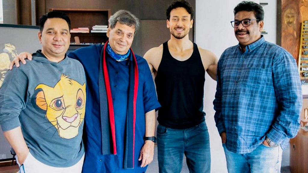 Subhash Ghai Teases New Project With Tiger Shroff