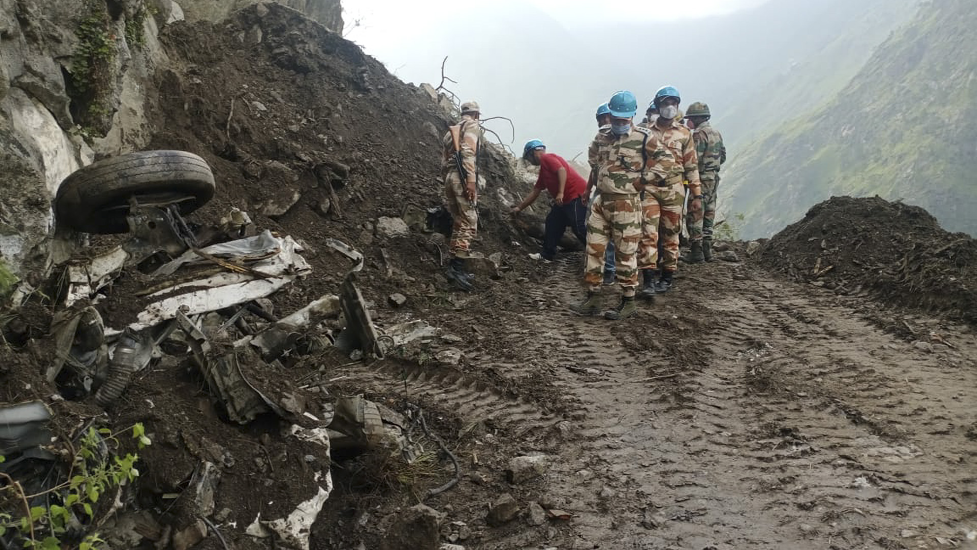 Landslide Horror: Four Dead And More Than 50 Feared Crushed In Massive Avalanche