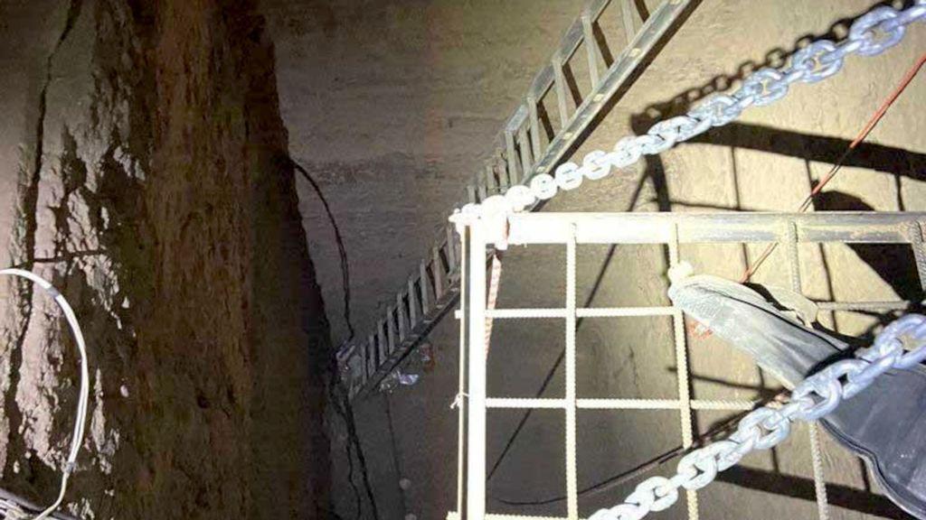 Agentes de Aduanas de Estados Unidos encuentran túnel de contrabando de drogas en frontera con México