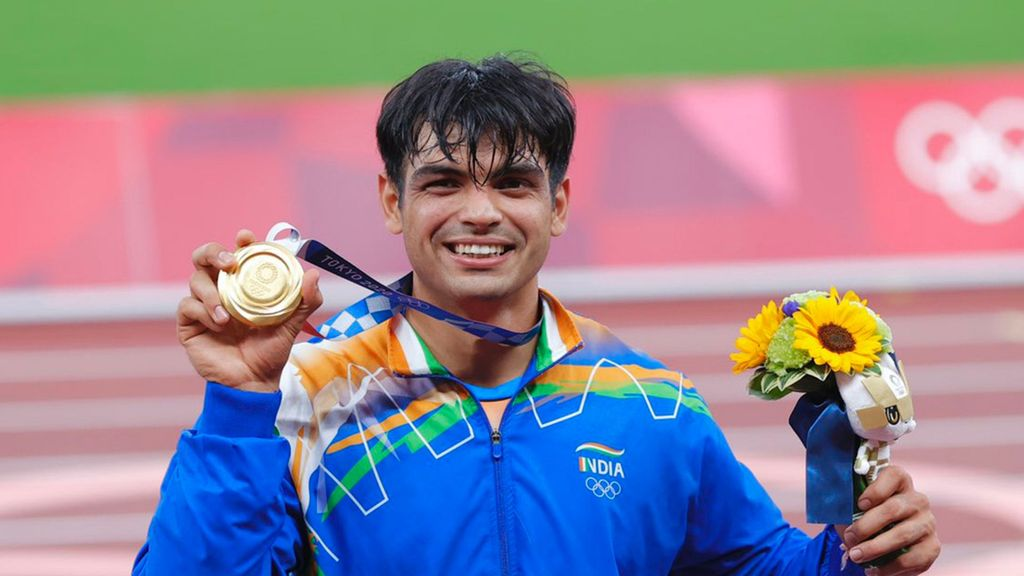 Indian Olympic Gold Medalist New World Number Two Javelin Thrower, One Point Behind German Nemesis