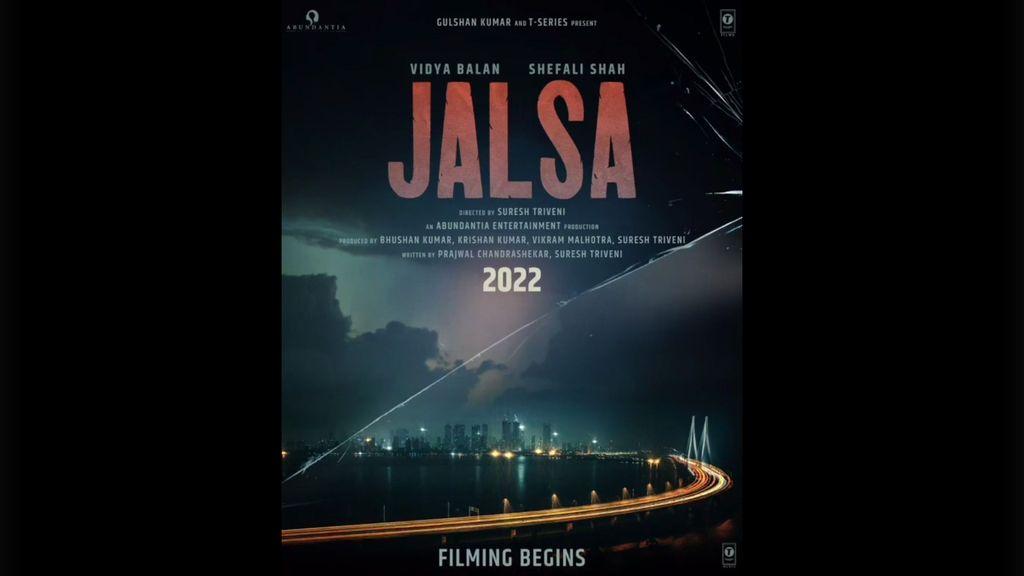 """Vidya Balan, Shefali Shah Start Filming For Suresh Triveni's """"Jalsa"""""""