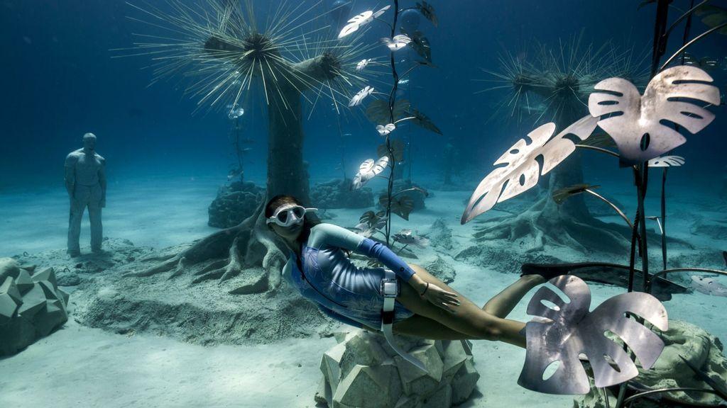 Water Park: British Artist Designs 93 Sculptures For Mediterranean's First Underwater Museum