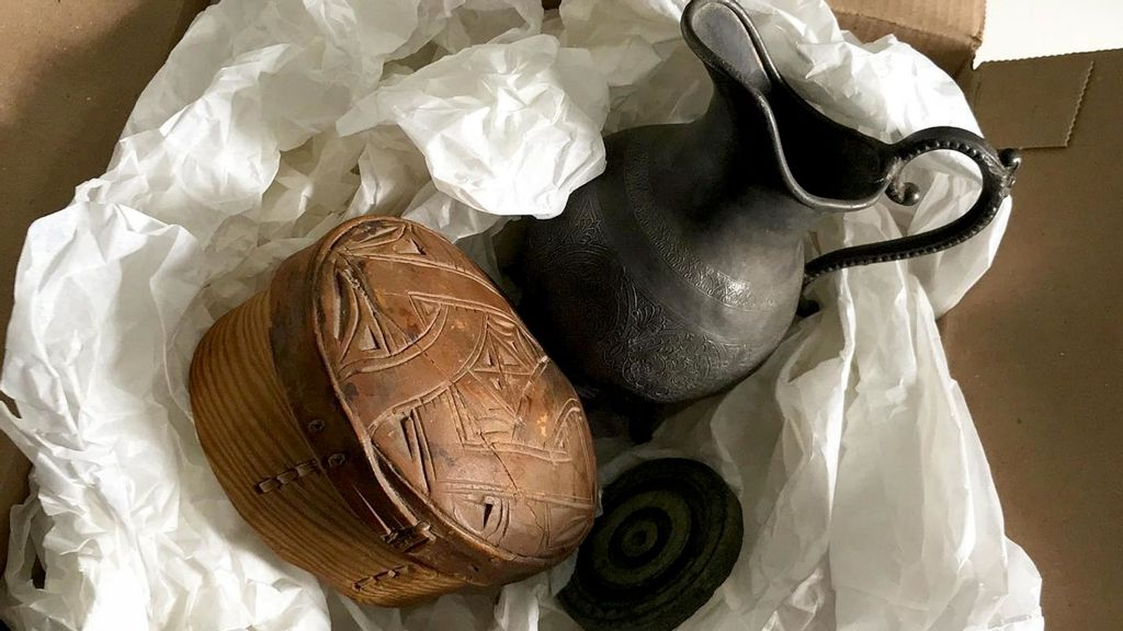 Lost And Found: Rare Treasures Stolen From Museum Are Returned 50 Years Later