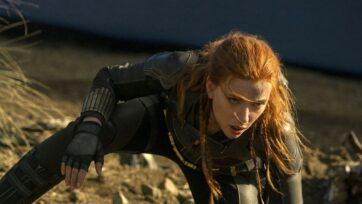 Scarlett Johansson as Black Widow. (Disney)