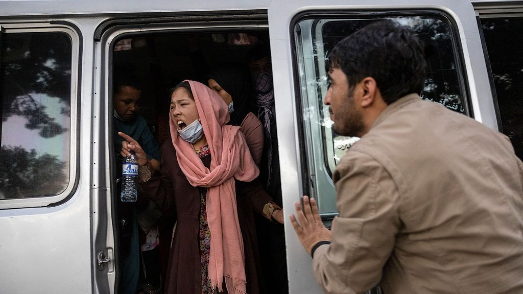 PHOTOS: 400,000 Afghans Displaced In Mega Humanitarian Crisis